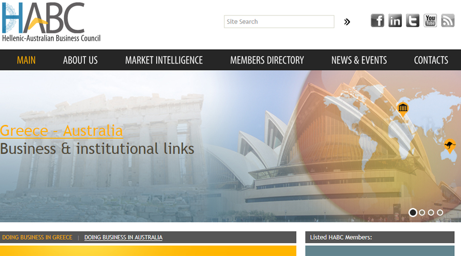 Hellenic Australian Business Council shops